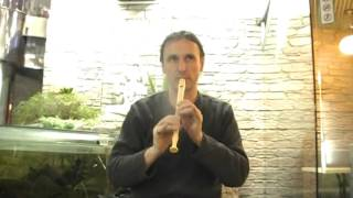 Уроки игры на блокфлейте.  Блок-флейта 0992584416