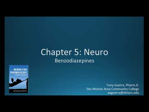 Benzodiazepines Alprazolam vs Lorazepam (CH 5 NEURO NAPLEX / NCLEX PHARMACOLOGY REVIEW)