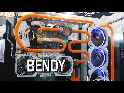 Amazing Water Cooled Builds - Thermaltake @ Computex