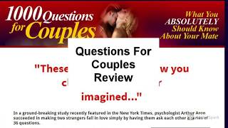 Questions For Couples Review | Is Questions For CouplesGood?