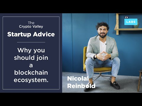 Startup Advice – Why you should join a blockchain ecosystem!