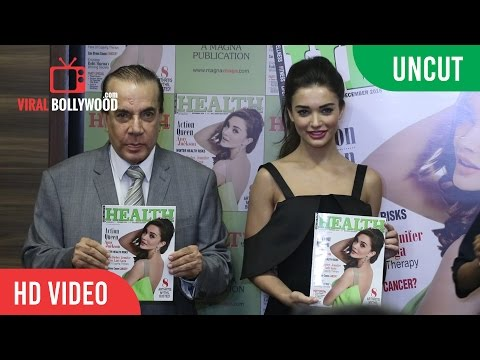 UNCUT - Health and Nutrition Magazine Launch | Amy Jackson | December 2016 Issue