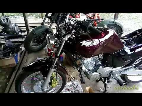 Modifikasi motor tiger 2000 yang simple dan murah hasilnya mantap