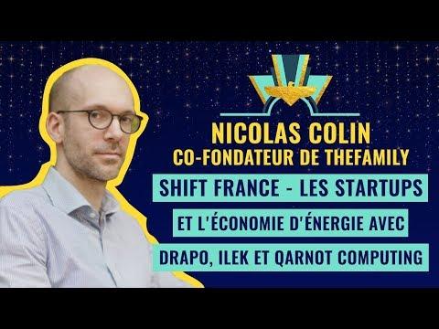 SHIFT FRANCE - Les Startups et l'économie d'énergie avec Drapo, Ilek et Qarnot Computing