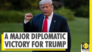 US President Donald Trump Promises To Protect Palestine   Abraham Accord   West Asia