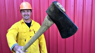 Best Timber Fallers Axe Ever!