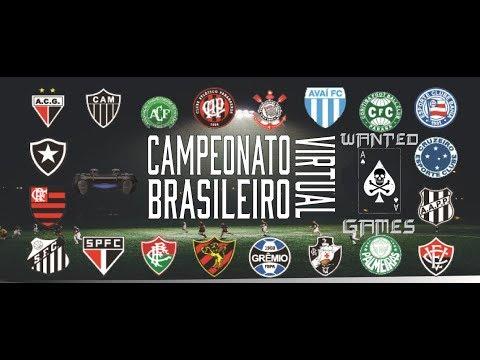 São Paulo vs Atlético PR - Campeonato Brasileiro Virtual  - Wanted Games