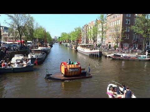 Boating on the Amsterdam Canals: Bierboeier, Jetski, Kano, etc