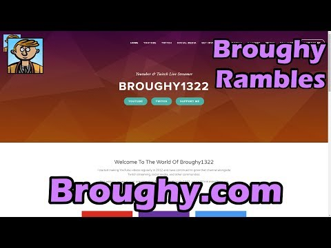 Broughy.com - My New Website!
