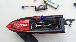 Proboat Impulse 9 on 2S LiPo FAIL