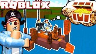 Roblox | XÂY THUYỀN SĂN KHO BÁU CỦA 2 THÁNH NHỌ - Build A Boat For Treasure | KiA Phạm