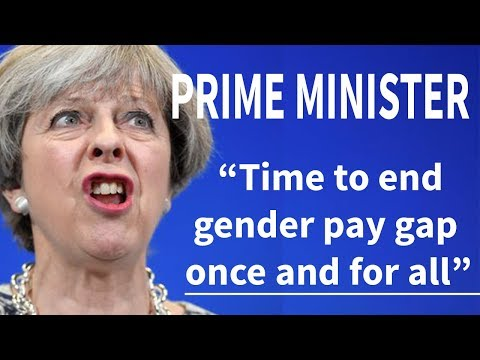 "UK Prime Minister's ""End Pay Gap Once and For All"" Pledge Debunked"