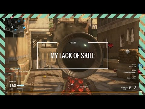 MY LACK OF SKILL!! MWR FUNNY MOMENTS WITH FRIENDS!