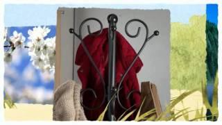 Standing coat rack
