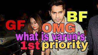 Bollywood star VARUN DHAWAN HAS FINALLY OPEN UP ABOUT HIS।। GF ।।NATASHA DALAL।।marriage plan.