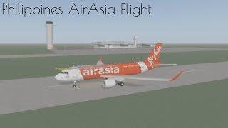 (Roblox Timelapse) Voler avec AirAsia Philippines