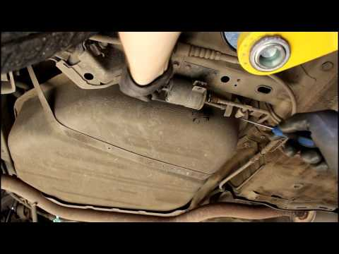 Chevrolet Epica Шевроле Эпика 2011 года Замена топливного фильтра