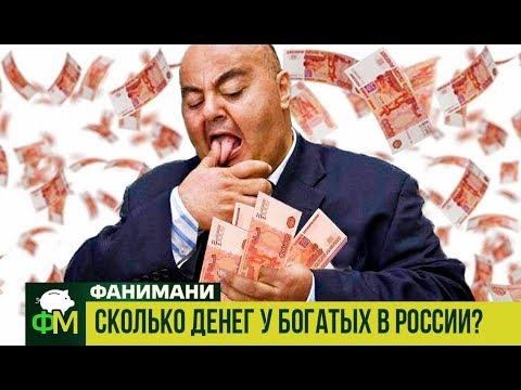 Сколько денег у богатых в России и что такое индекс Джини // Фанимани