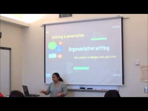 Writing workshop I: Reading academic papers and writing academically