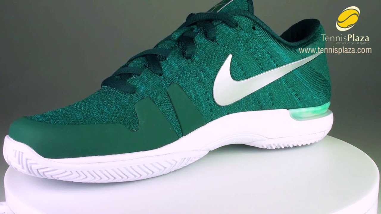 sale retailer 48973 feeef Nike Zoom Vapor 9.5 Flyknit Tennis Shoes 3D View   Tennis Plaza Review