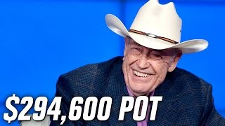 $294,600 - Doyle Brunson FIGHTS Young Gun For This Pot(, 2017-03-13T16:57:38.000Z)