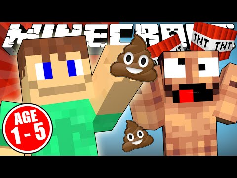Thumbnail: If Minecraft was ONLY for 5 Year Olds