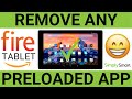 Remove Any Amazon Fire Tablet App   Fast and Easy (2021)
