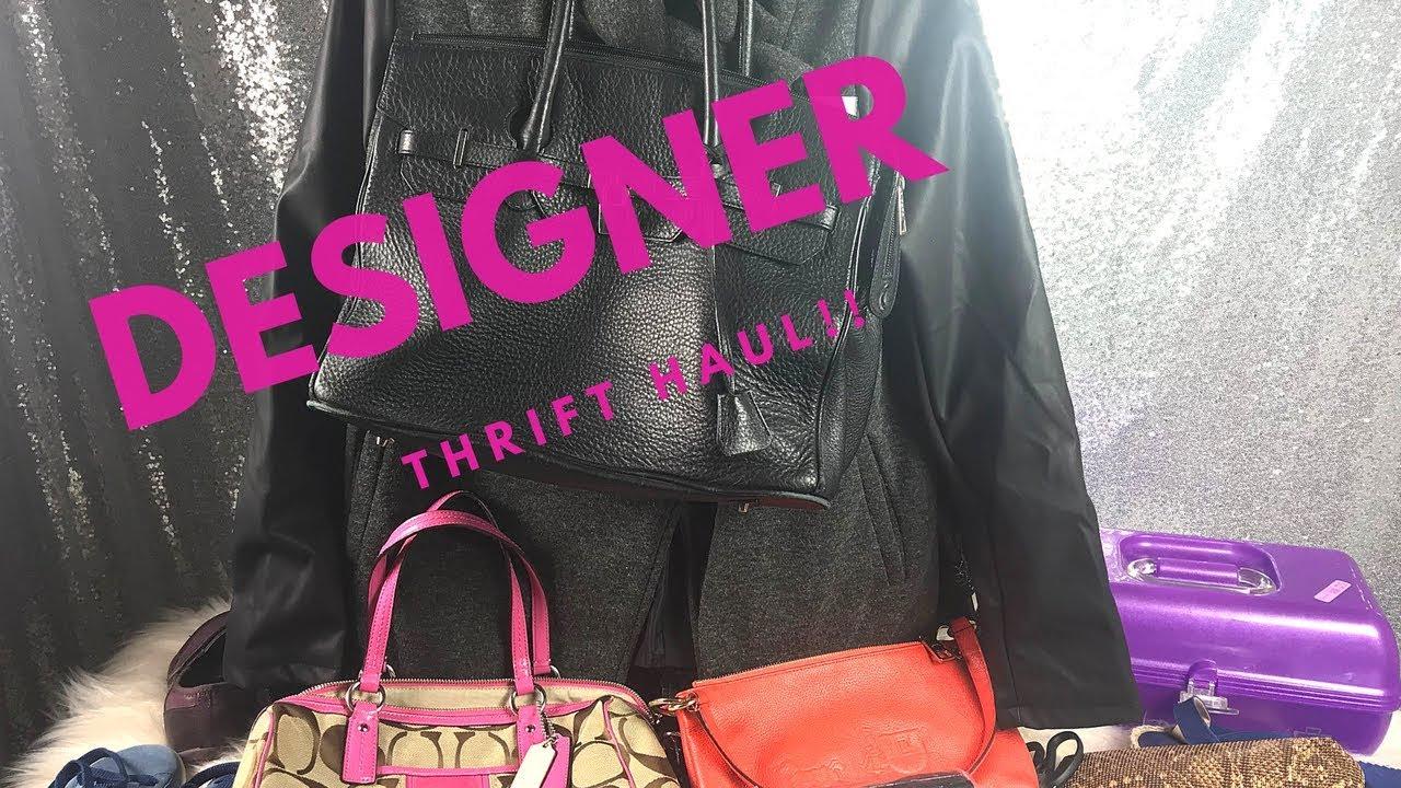72aeccf66183 Designer thrift Haul~ Handbags