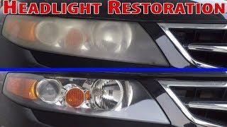 Headlight Restoration for any car