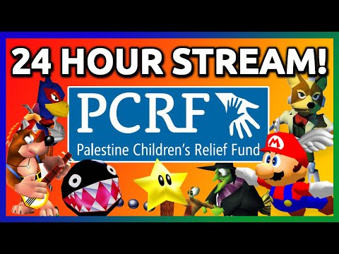 24 HOUR CHARITY LIVESTREAM for Palestine Children's Relief Fund | PART 1 of 3