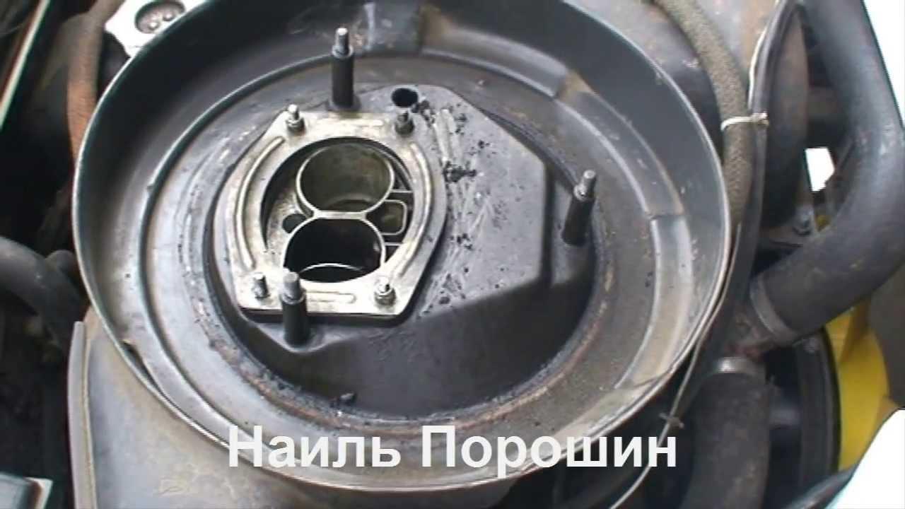 конденсат в воздушном фильтре ваз 2107