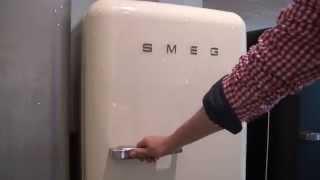 FAB28RP1 - Video SMEG koelkast creme | De Schouw Witgoed