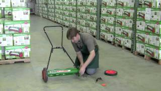 How To Adjust the height on a Scotts Classic Reel Mower