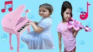 SİHİRLİ MÜZİK ALETLERİ - Magic Musical İnstruments , Fun Kid Video