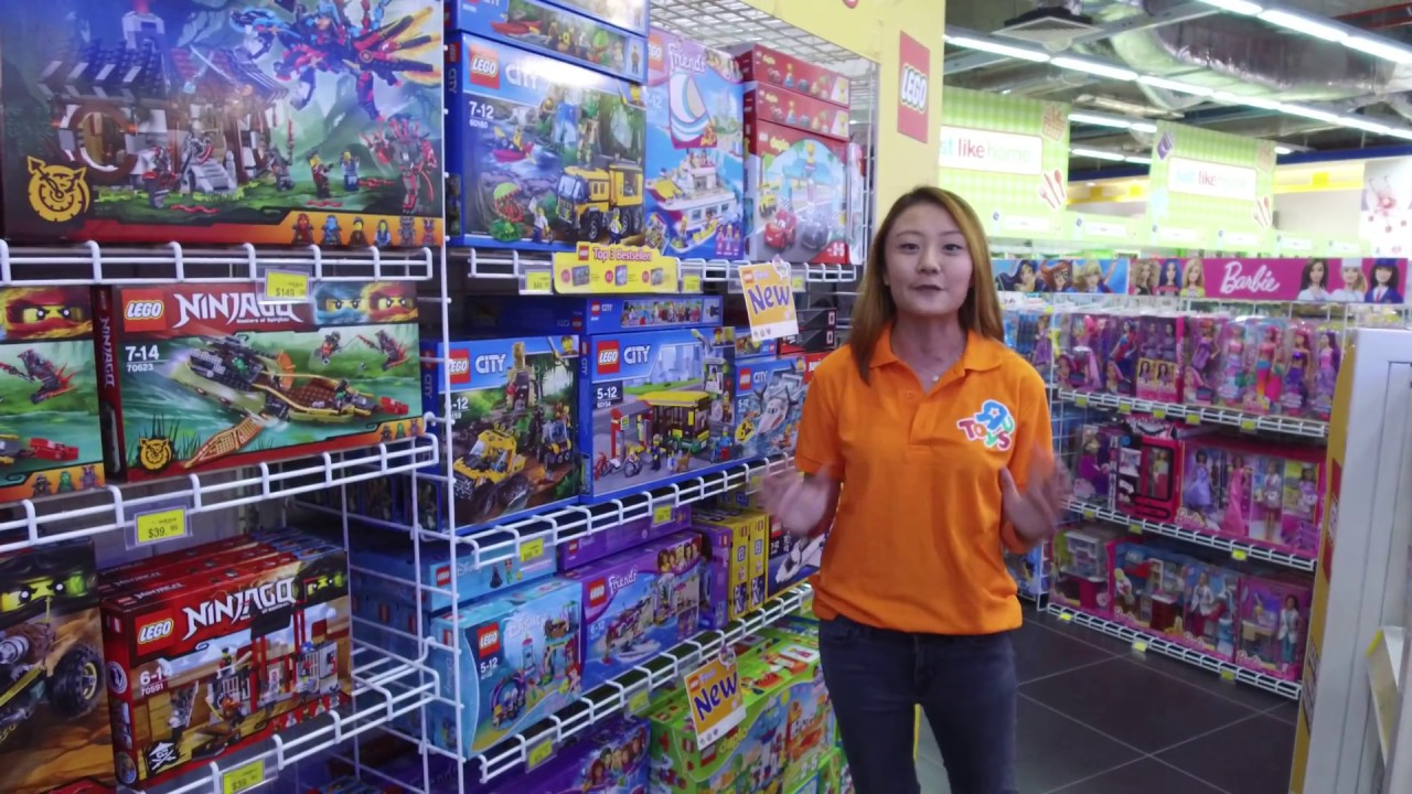 Toys For 8y Toys Rus : Lego at toys quot r us west gate youtube