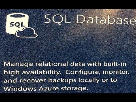 Bases de datos SQL Azure