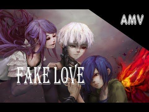 { AMV } Аниме клип-Токийский Гуль:Лож любви