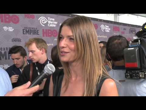 Ivana Milicevic talks kicking some ass in BANSHEE with Brad Blanks