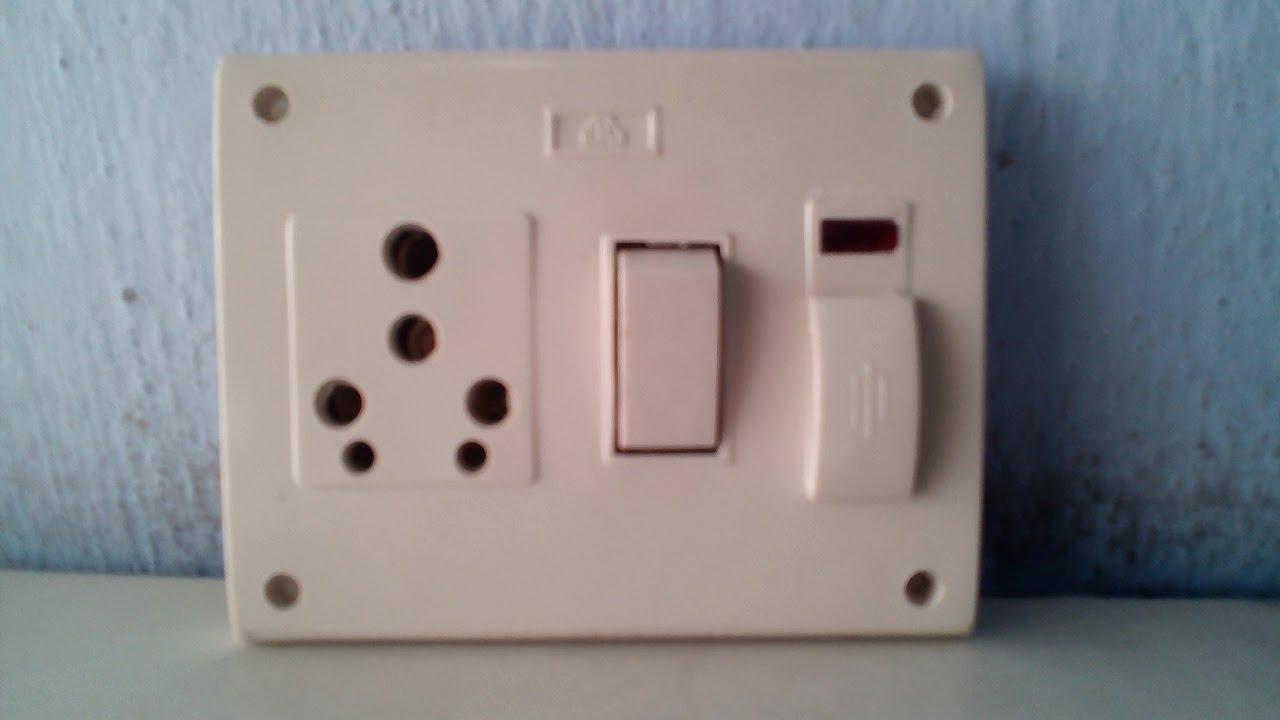 3 Phase 5 Pin Plug Wiring Diagram Uk Boron Molecular Orbital Switch Socket Connection Five In One Youtube