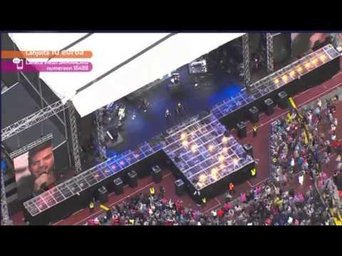 Live Aid - Adam Lambert 2015-06-06 - Helsinki  - Adam Lambert performing at a Live Aid concert in Helsinki.