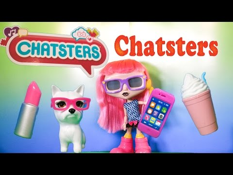 CHATSTER Gabby Spinmaster Chatster Talking Doll a TheEngineeringFamily Toys Video