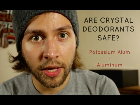 Are Crystal Deodorants Really Aluminum-free?