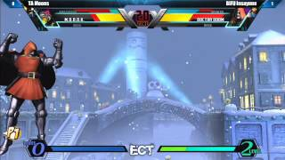 UMVC3 Top 8 TA Moons vs BIFU Insaynne - East Coast Throwdown