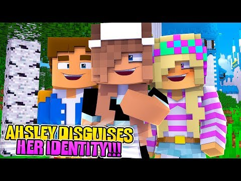Minecraft LITTLE DONNY'S PSYCHO EX DISGUISES HER IDENTITY TO STALK US!!Donny & Leah Adventures