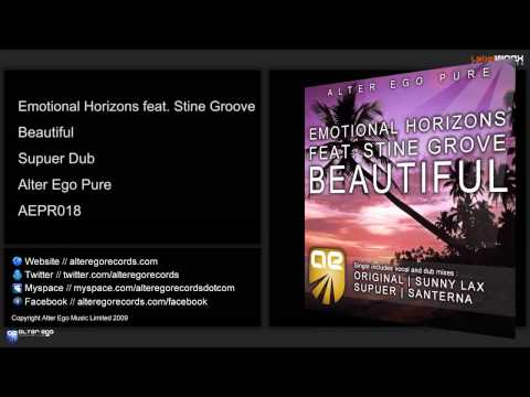 Emotional Horizons feat. Stine Grove - Beautiful (Supuer Dub)