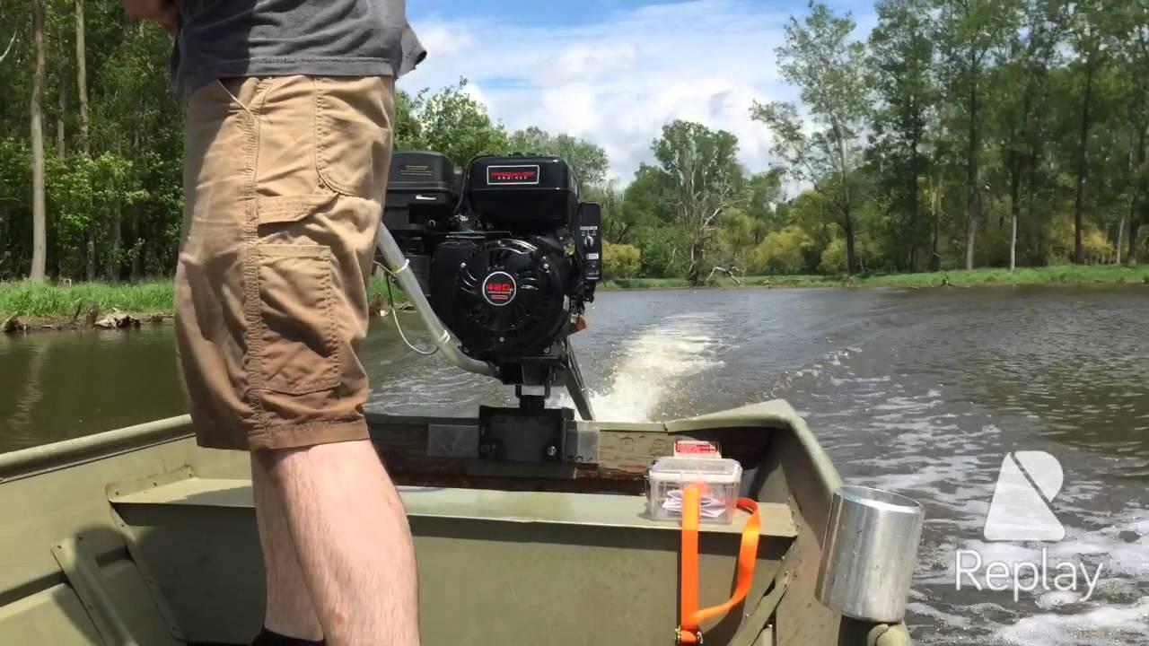 Predator 420cc Custom Built Mud Motor Backwater 8x4