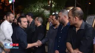 انهيار أحمد عزمى وعمرو عبد الجليل  في عزاء ماهر عصام.. فيديو