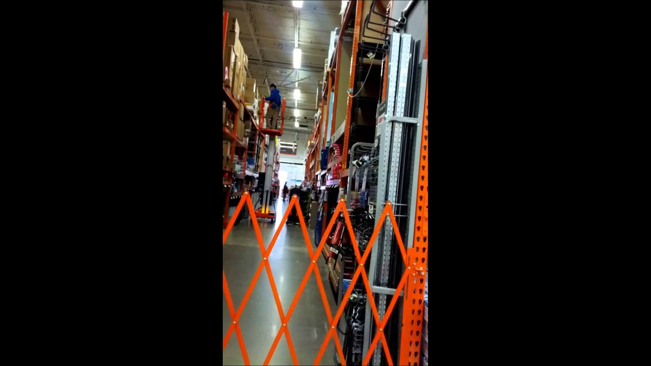 Home Depot Scissor Lift