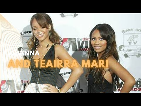 2005 11 12 Rihanna and Teairra Mari