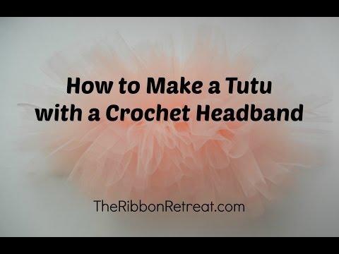 How To Make Tutu With Crochet Headband